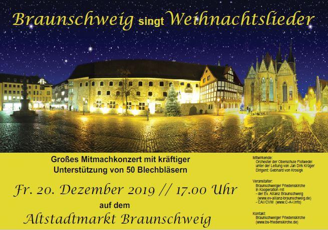 Braunschweig singt Weihnachtslieder