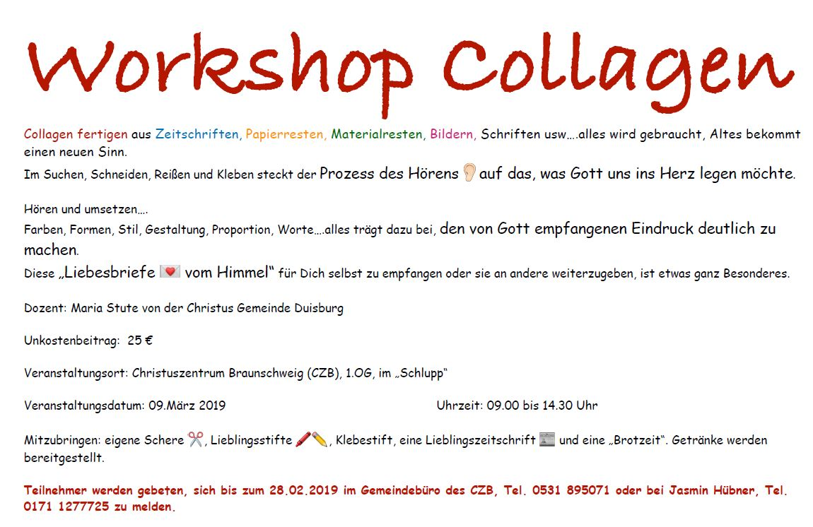 Workshop Collagen